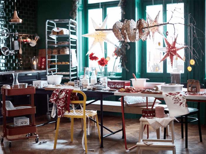 salon alegre navidad IKEA 2016 2017