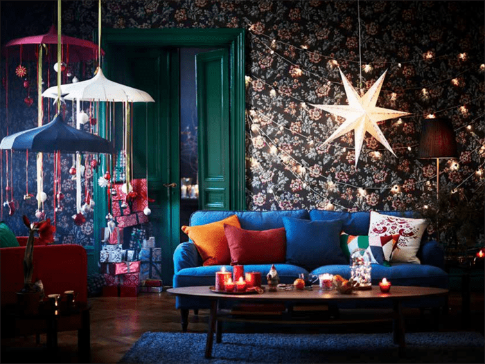 salon navidad IKEA 2016 2017