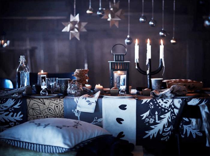 salon penumbra navidad IKEA 2016 2017
