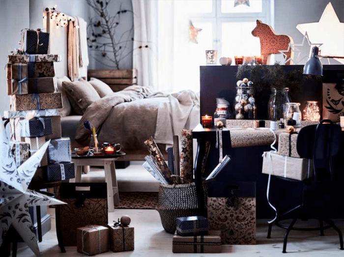 sala de estar navidad IKEA 2016 2017