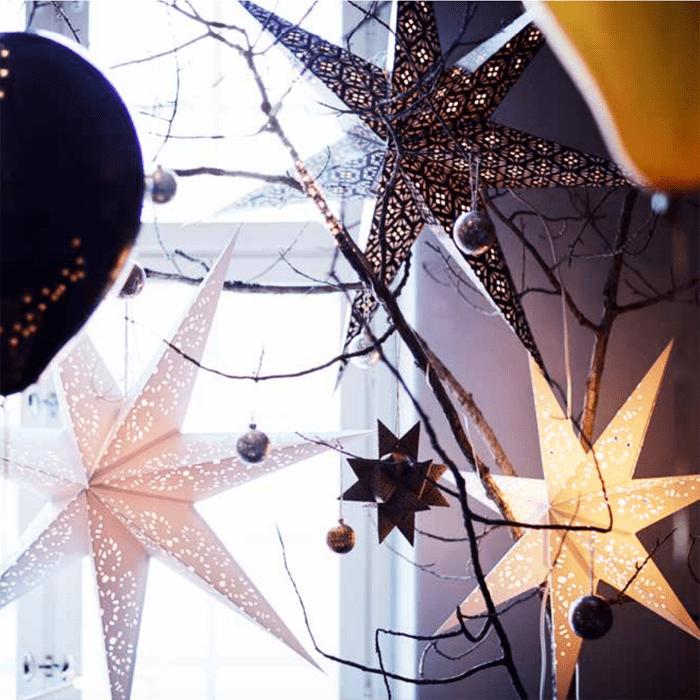 guirnalda estrellas navidad IKEA 2016 2017