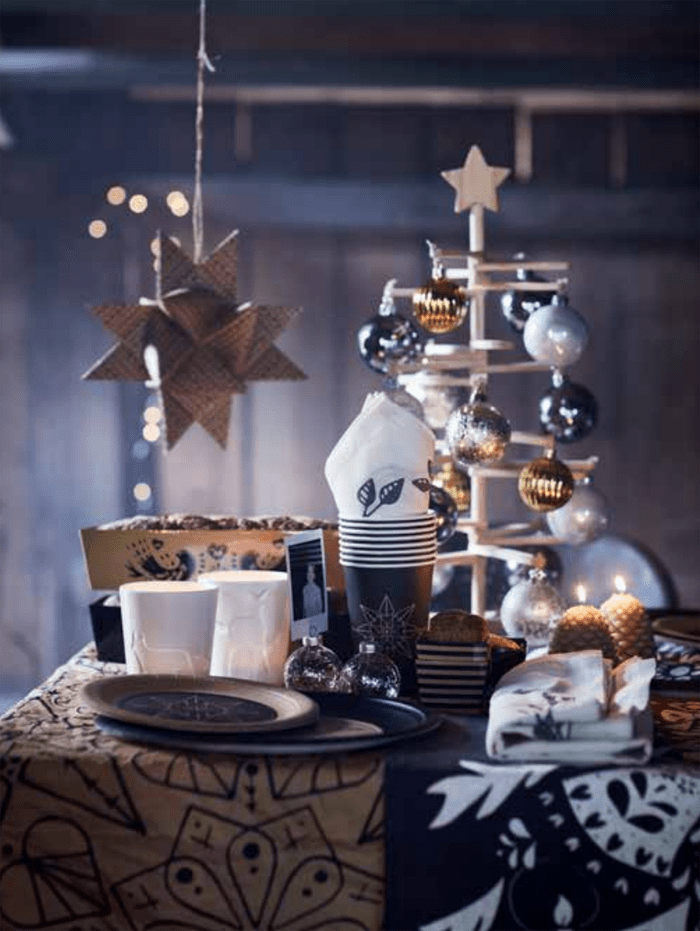estrellas y luces navidad IKEA 2016 2017