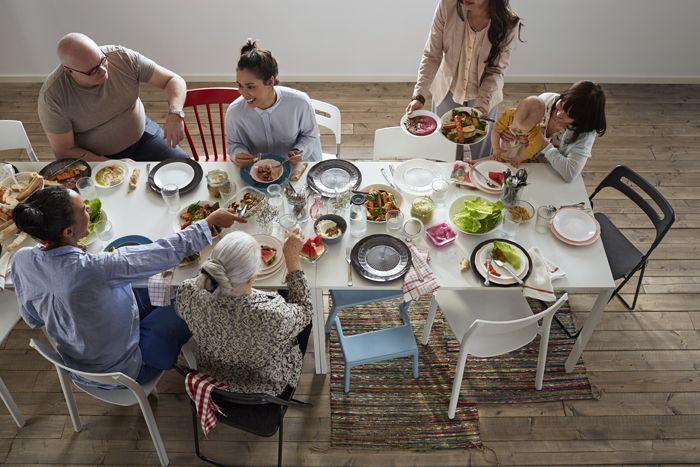 mesa comedor familia catalogo ikea 2017