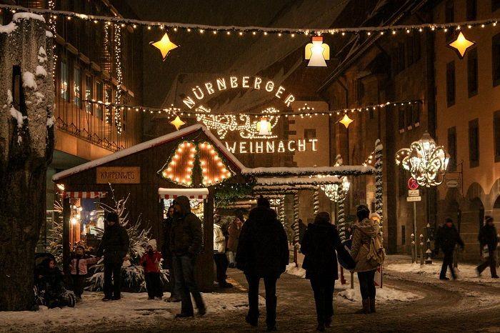 entrada al mercado de nuremberg