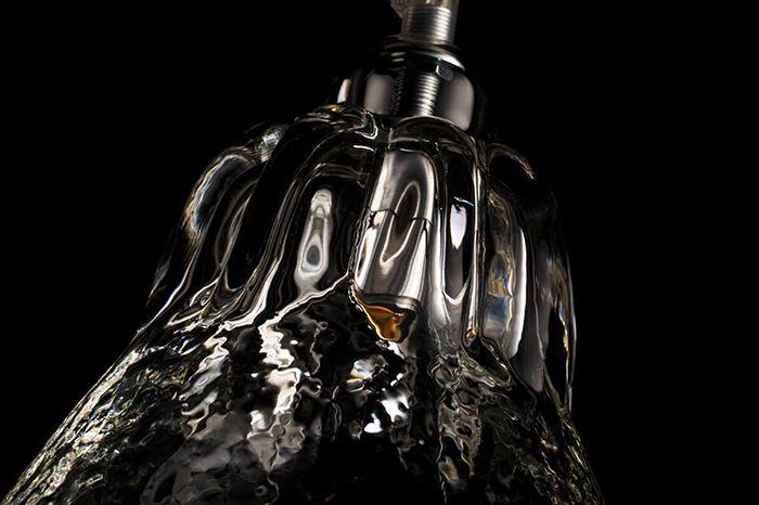 parte superior lampara