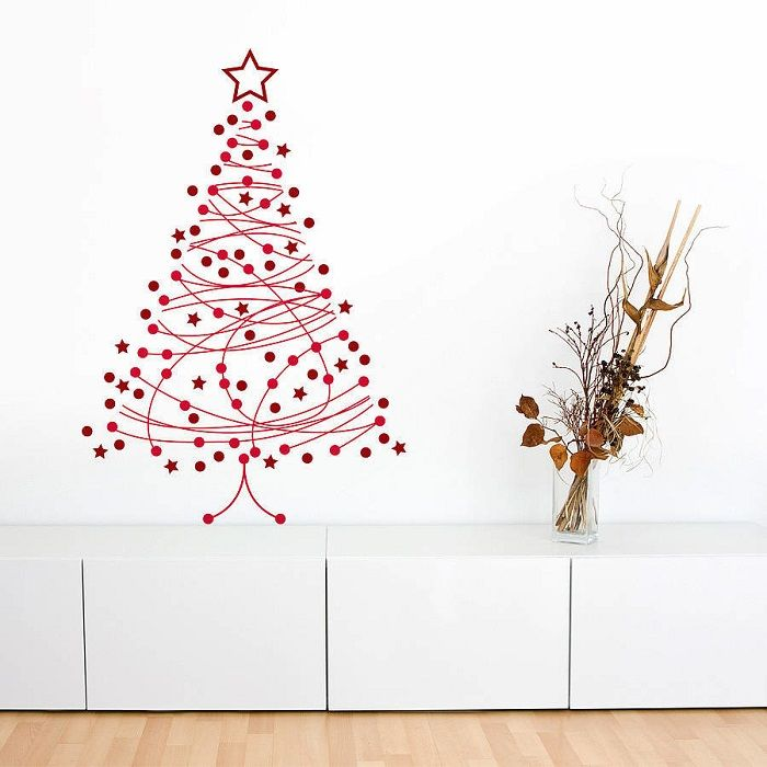 árbol de navidad vinilo