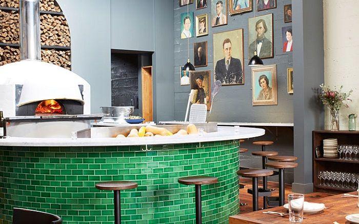 """Restaurante """"Del Popolo"""" , la nueva creación de Jessica Helgerson Diseño de interiores"""