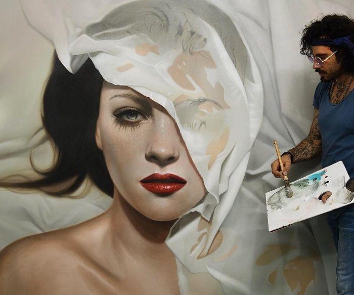 pintura velo