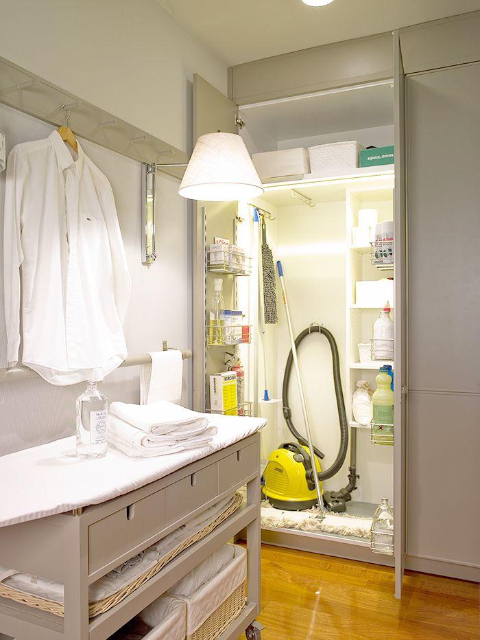 zona plancha cocina deulonder armario limpieza