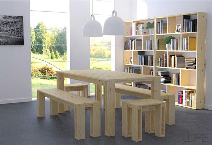 Lufe el ikea espa ol con muebles de madera de calidad - Ikea coste montaje ...