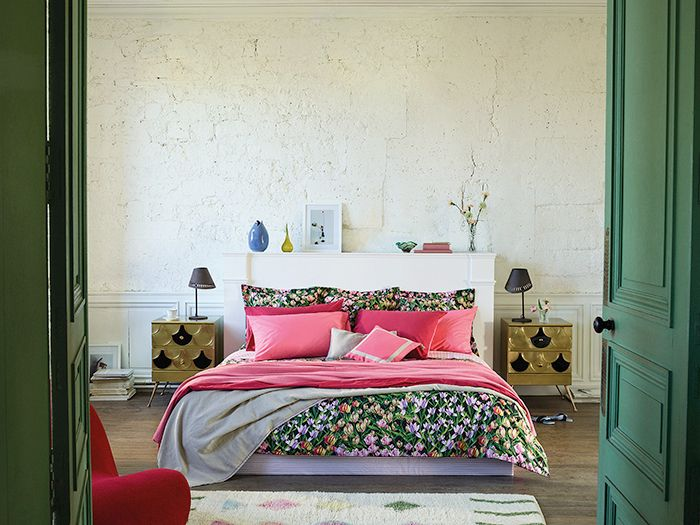 cama zara home new floral collection