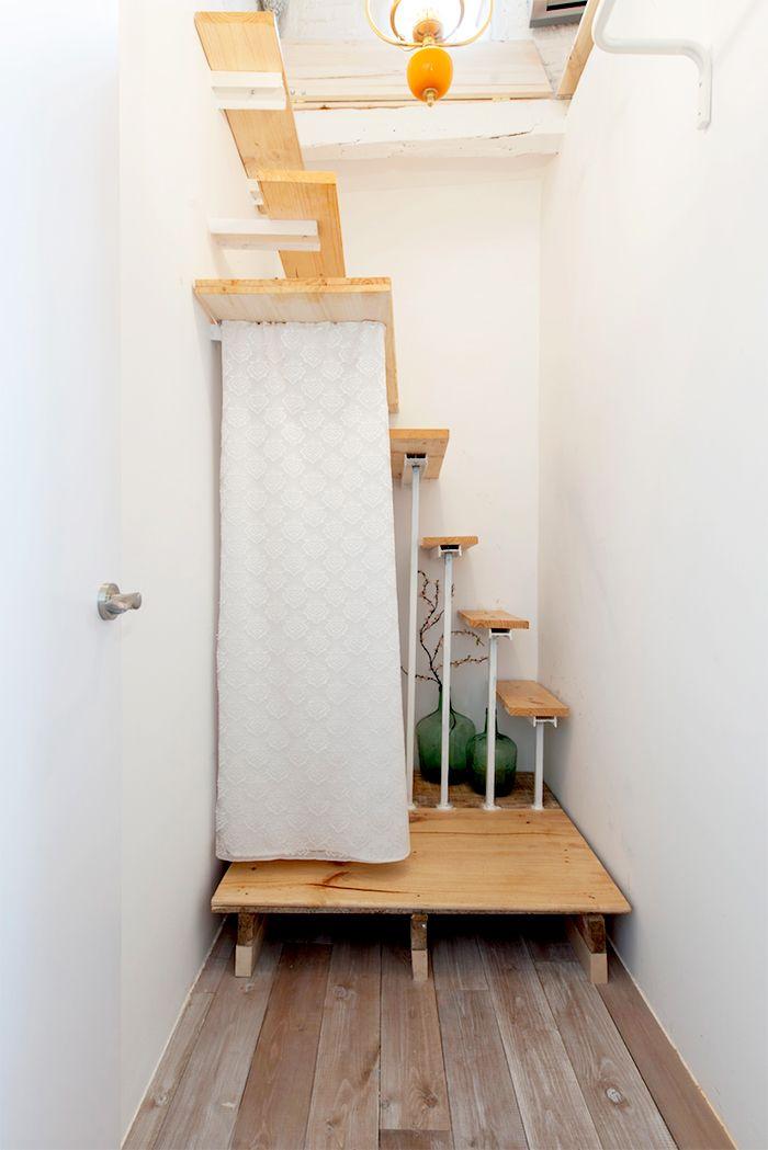 escaleras piso malasaña