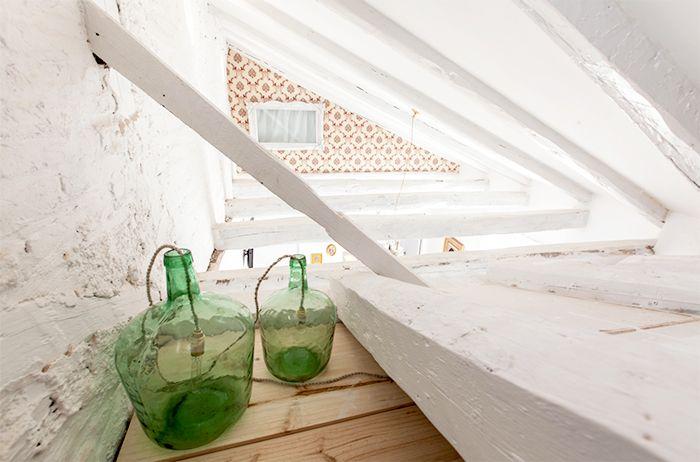 garrafas vidrio reciclaje restauradas