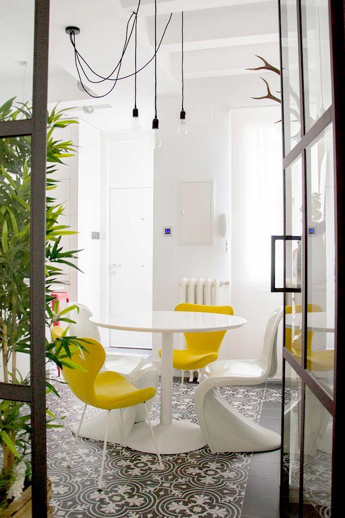 estudio viteri lapeña diseño mesa sillas