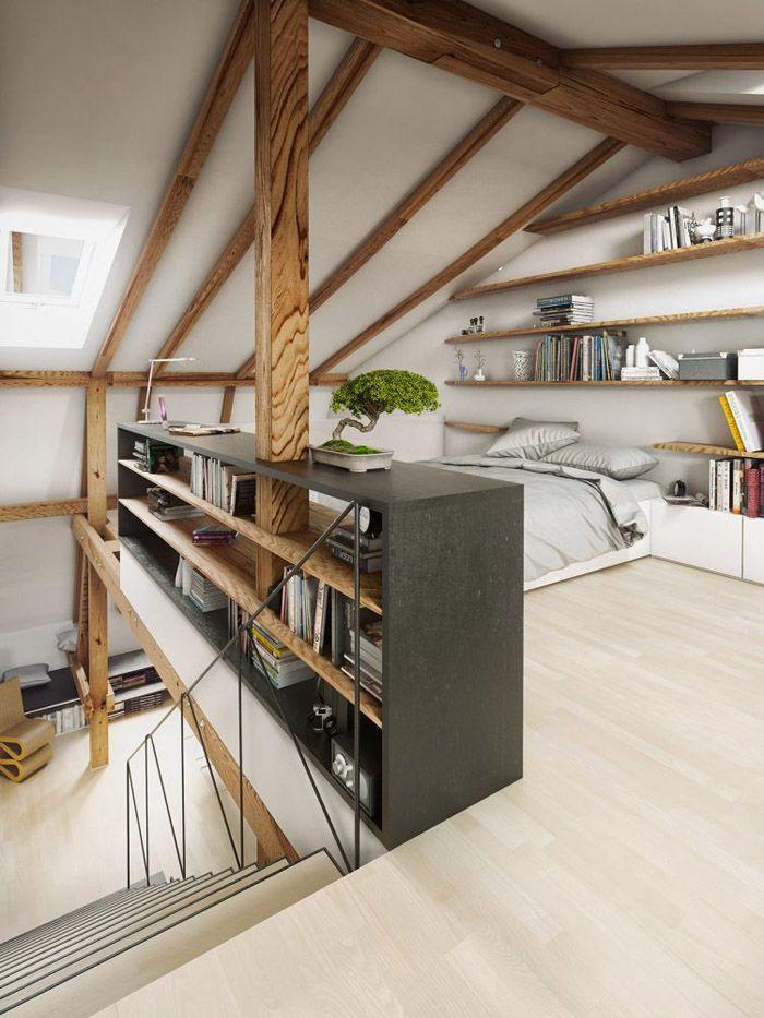 Ideas para decoraci n de ticos dormitorios - Ideas para aticos ...