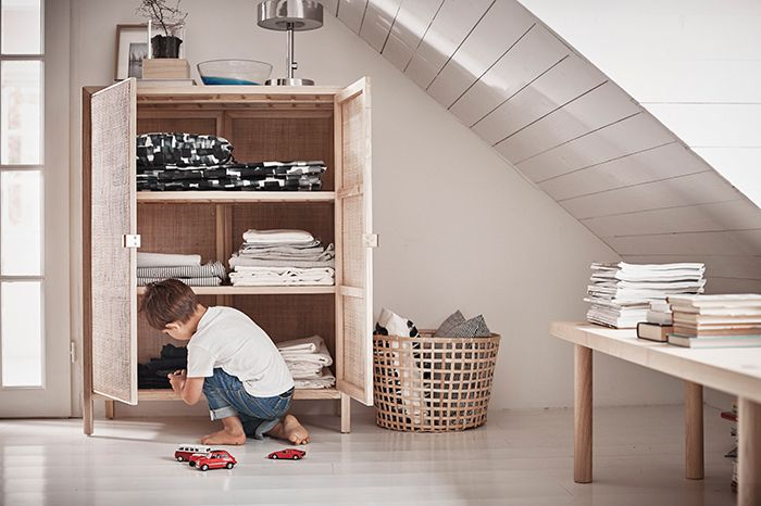 armario mesa cesta ikea stockholm