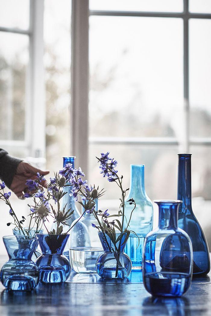 vidrio jarra florero ikea stockholm