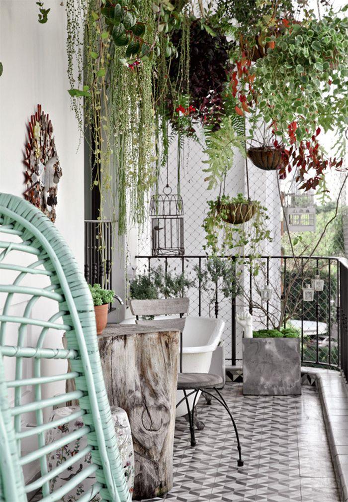 26 ideas para decorar la terraza esta primavera-verano