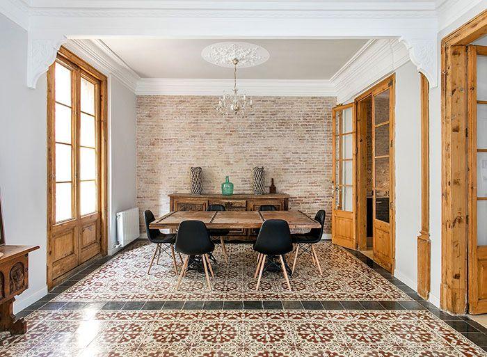 Selecci n de pisos de lujo en espa a decorados con for Pisos de bankia barcelona
