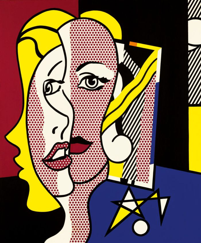 """Female Head"" de Roy Lichtenstein se subastará en Nueva York"