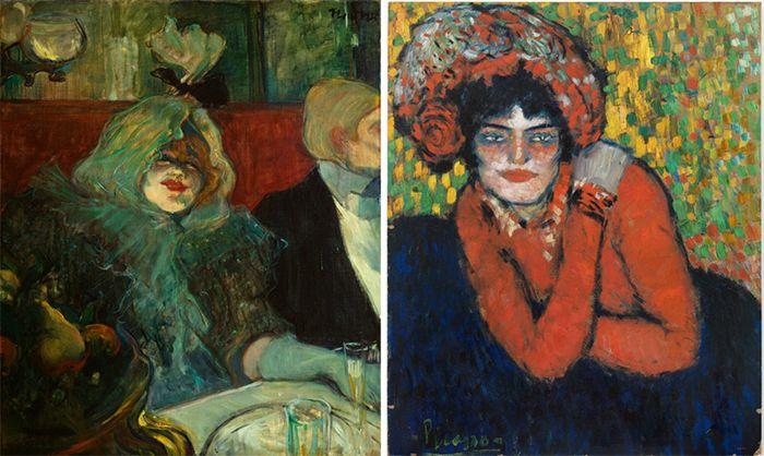 Exposición Picasso/Lautrec en el Museo Thyssen-Bornemisza