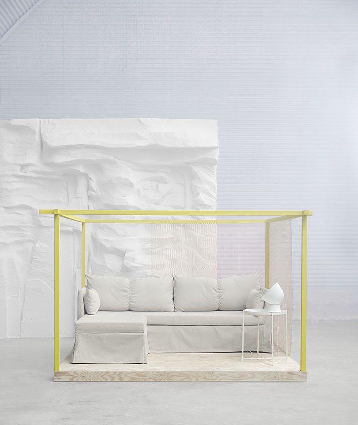 Novedades de ikea decoraci n m s escandinava y - Sofa cama esquina ...