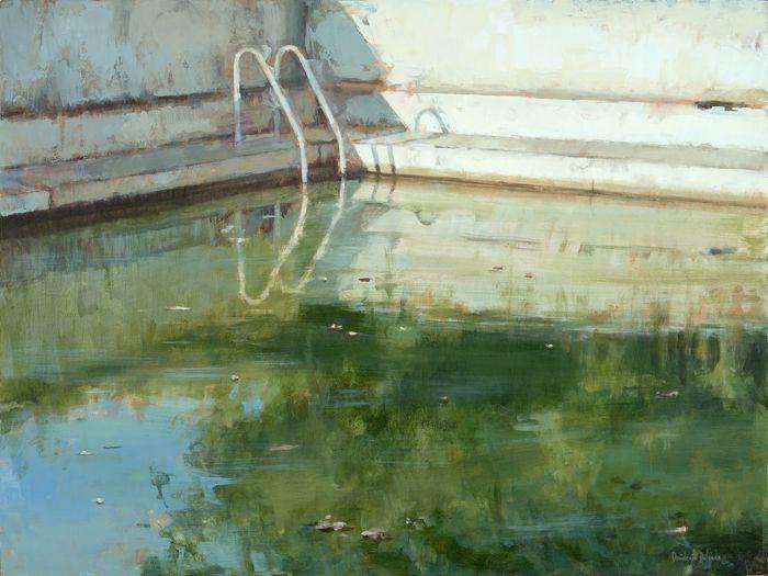 Exposiciones en Madrid: el agua protagoniza la muestra del pintor Desiderio Delgado