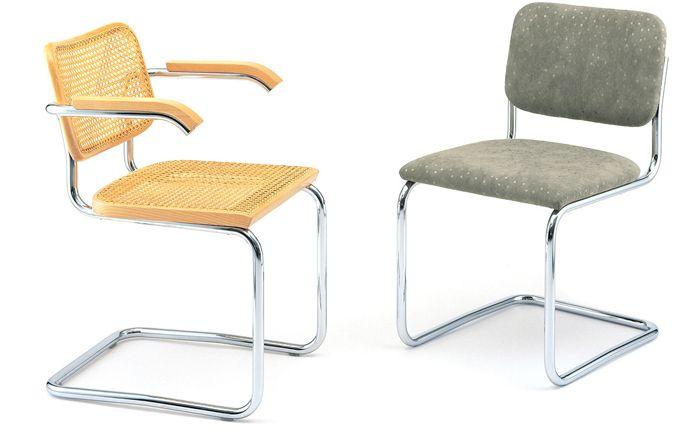 Decoraci n de la bauhaus silla cesca dise o de marcel breuer for Fabricantes sillas modernas