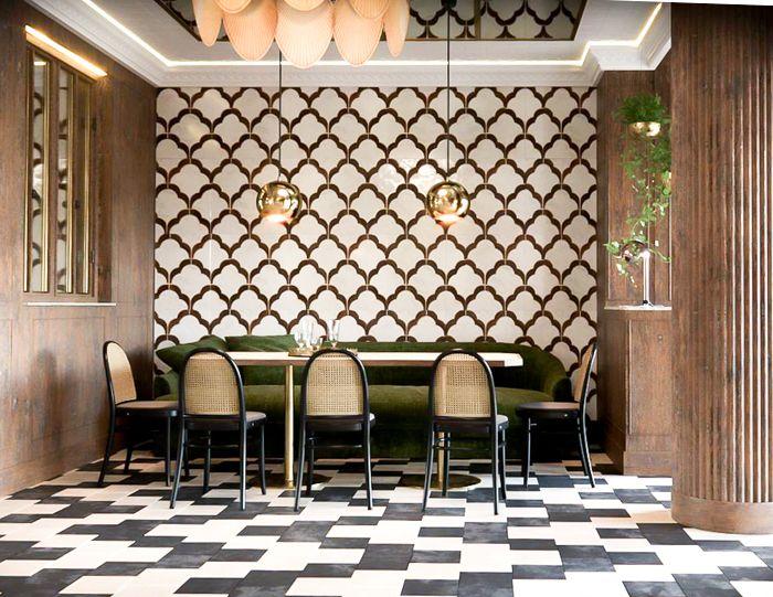 espacio restaurante hindu clasico