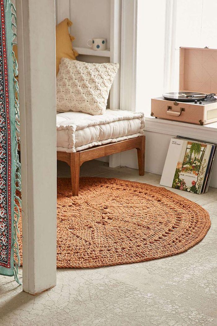 Accesorios para decoraci n boho alfombras de yute o - Alfombras fibras naturales ...