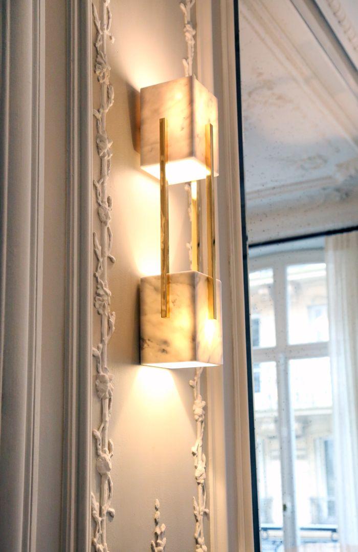 aplique luz lampara espejo iluminación