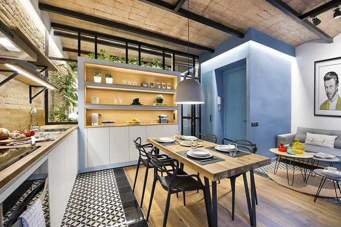 Claves de decoración para una cocina de concepto abierto