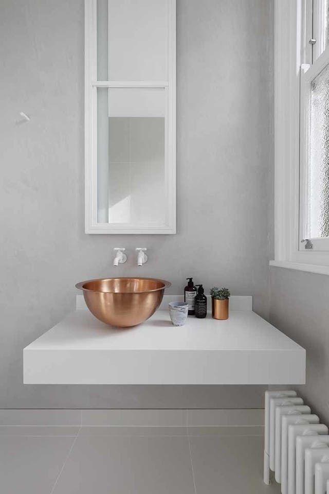 Balda baño para lavabo pequeño
