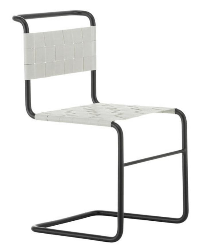 silla de tubos pionera Mart Stam