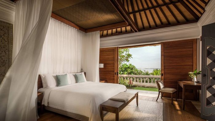 dormitorio hotel de lujo indonesia