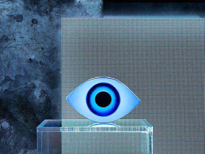 ojo de vidrio