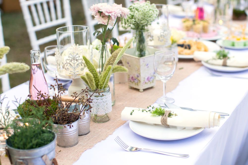 mesa celebracion aire libre