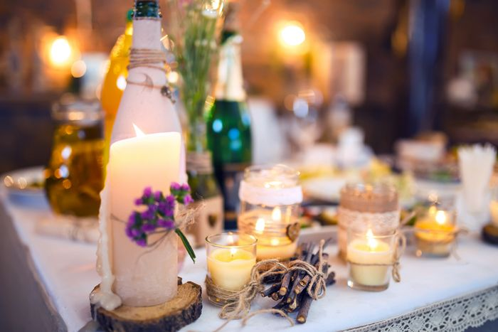 ideas velas decorativas