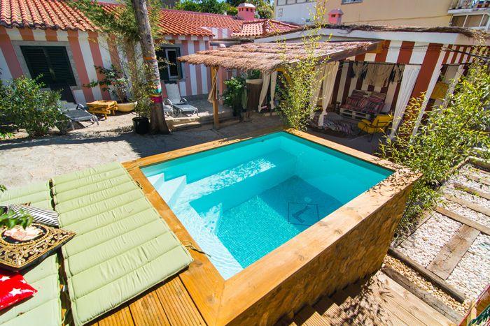 pileta alojamiento playa portugal
