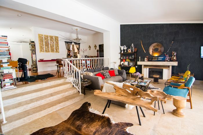 salon zona comun alojamiento playa portugal
