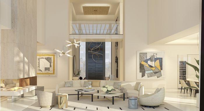 salon vivienda lujosa en Marbella