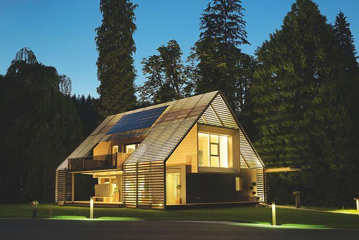 Casa eficientemente energetica