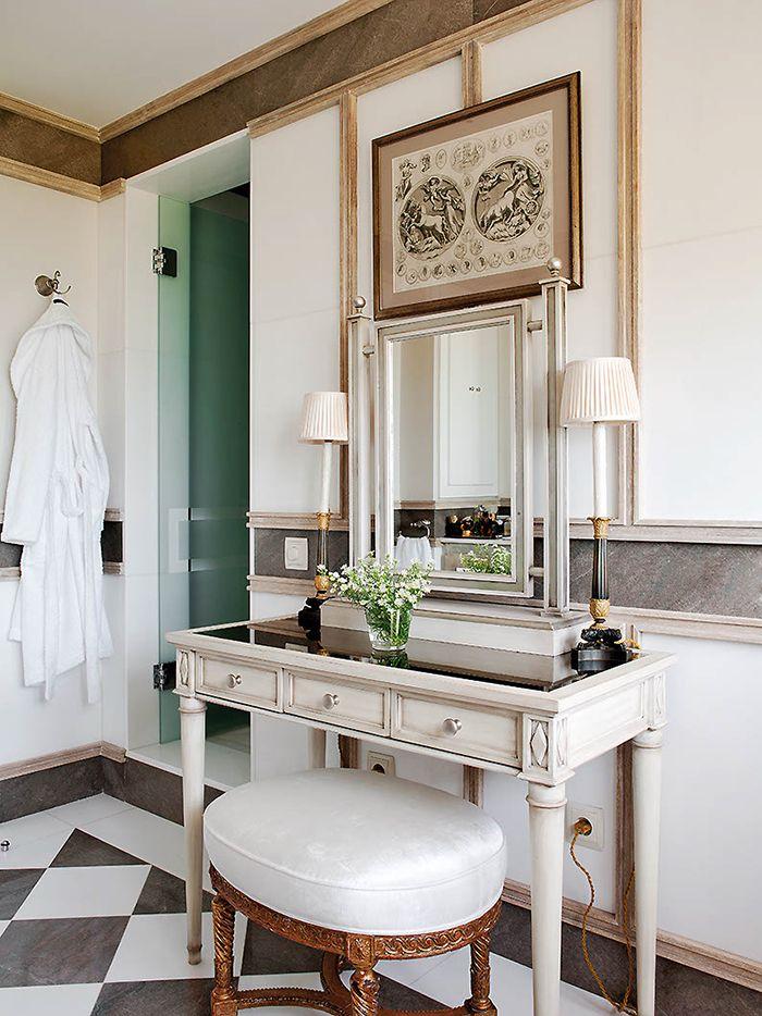 tocador en baño