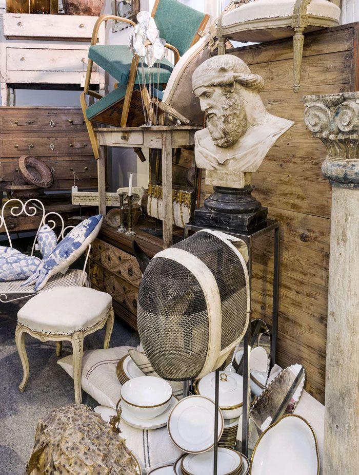 antigüedades exposición barrio salamanca