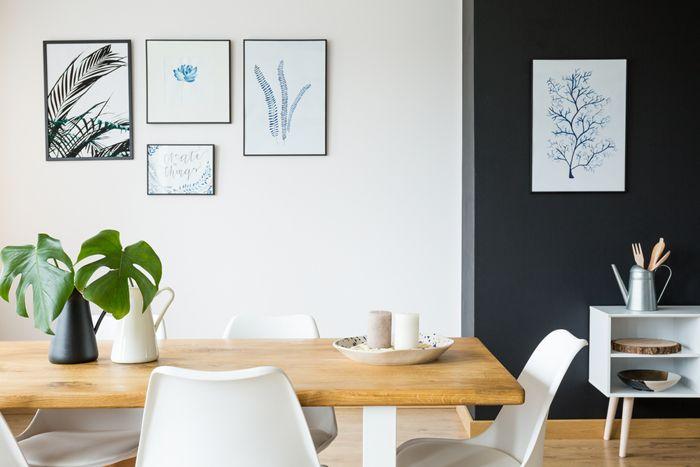 mesa salon madera