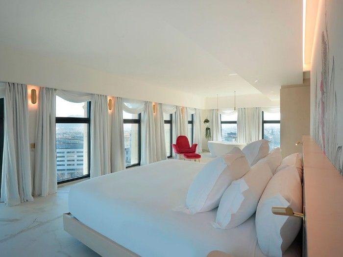 hotel de estilo minimalista