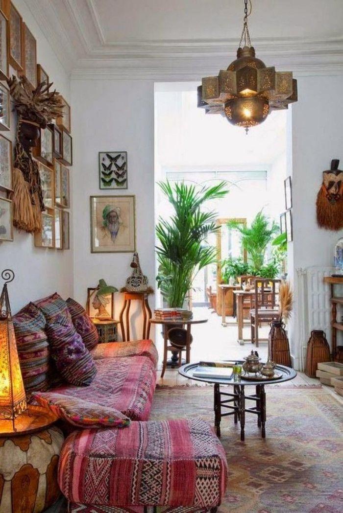 sala de estar decoracion arabe