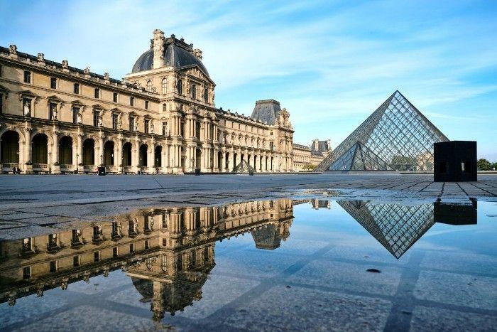 El Museo del Louvre, un edificio con siglos de historia