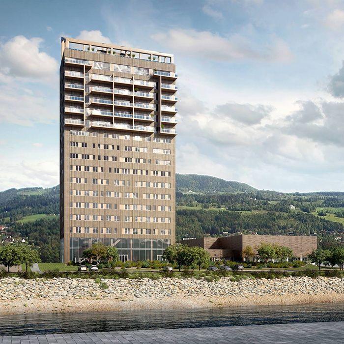 Brumunddal vivienda en rascacielos