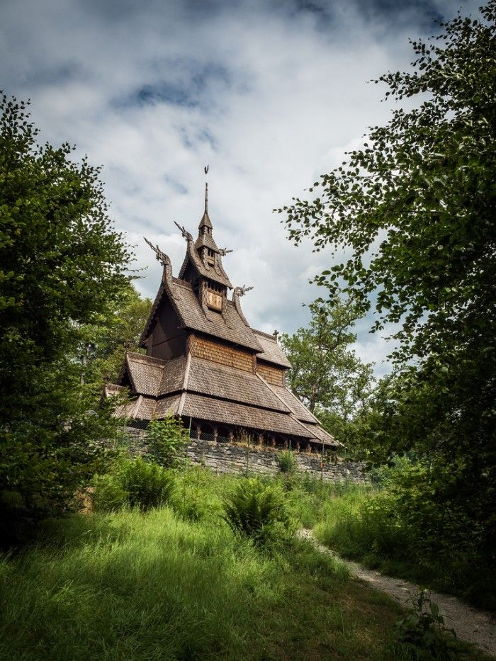Stavkirke, iglesias de madera en Noruega